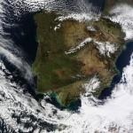 La península Ibérica tras las últimas nevadas