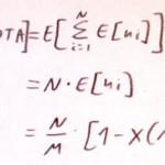 Exámenes tipo test, esperanza matemática y porqué los errores DEBEN restar