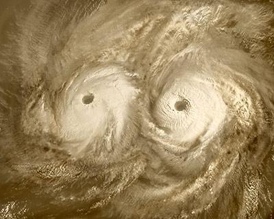 El doble vórtice del polo Sur de Venus ha desaparecido