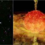 """Chandra X detecta estrella """"canibal"""" desconocida hasta ahora"""