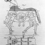 Patente de 1893: Caballo mecánico a pedales
