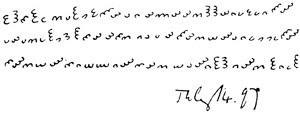 Antiguos sistemas de escritura que se resisten a ser descifrados
