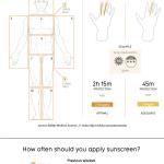 Infografía: Rayos UVA, UVB, factor de protección solar, cánceres de piel y más