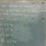 Paradoja matemática: la pregunta tipo test más jodida del mundo
