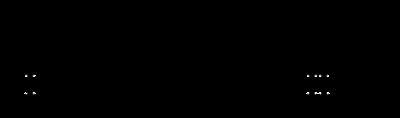 Skeletal formulas of both conformations