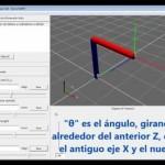 Parametrización Denavit-Hartenberg para robots: teoría, vídeo y nueva aplicación libre