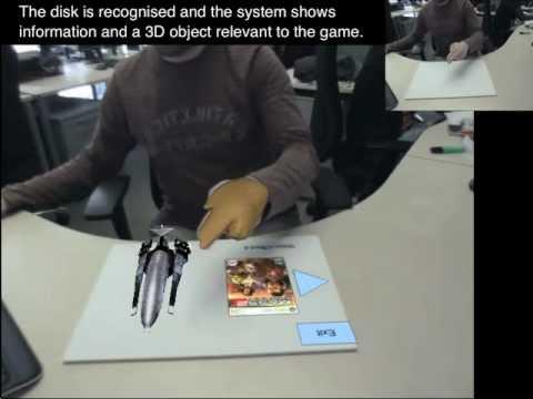 """Realidad aumentada y control gestual de precisión: finalista al concurso """"Sense the World"""" (¡y aún se puede votar!)"""