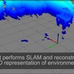 Robot iRobot hackeado, más Kinect de XBox, modela el mundo 3D y obedece órdenes gestuales