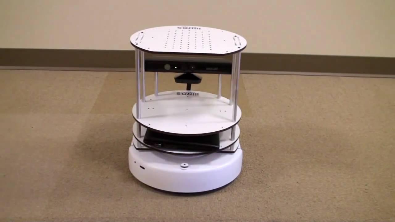 """TurtleBot: El """"camarero robótico"""" basado en Kinect"""