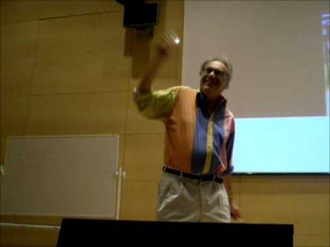 Walter Lewin demuestra el efecto Doppler hablando de estrellas binarias