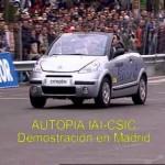 El de Citroen NO es el primer coche autónomo que pisa una carretera española